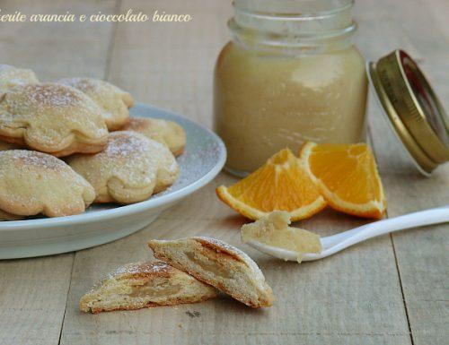 Margherite arancia e cioccolato bianco..