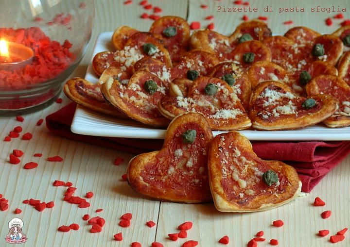 Pizzette di pasta sfoglia