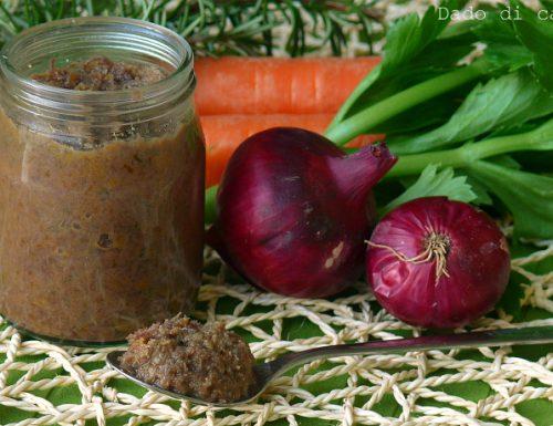 Dado di carne fatto in casa con pochi e semplici ingredienti