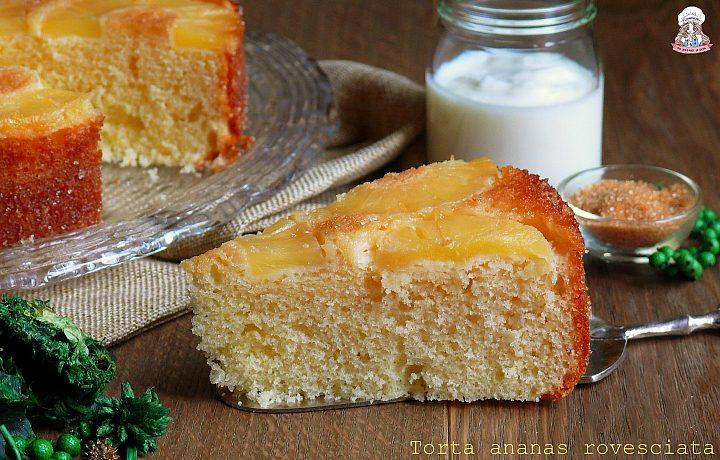 Torta ananas rovesciata