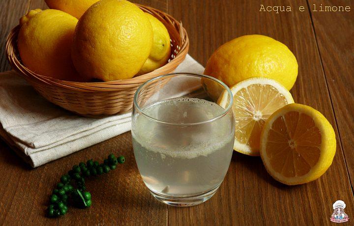 Acqua e limone come depurarsi