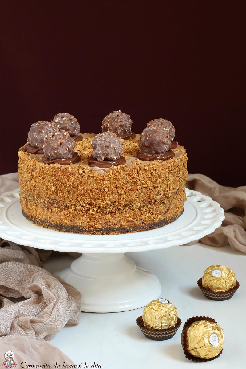 Favorito Cheesecake ferrero rocher ricetta senza cottura IX93