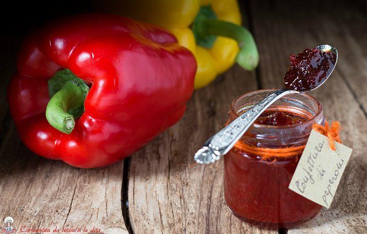 Confettura di peperoni ricetta