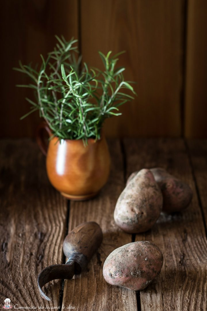 Patate food photography