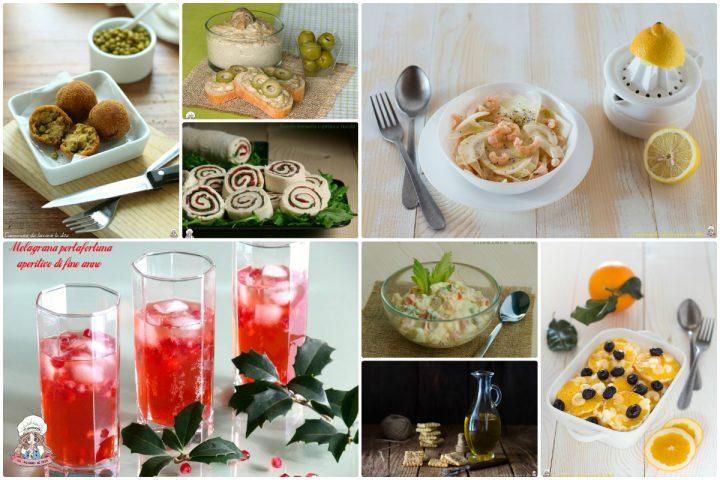 Raccolta di antipasti e aperitivi ricette per le feste