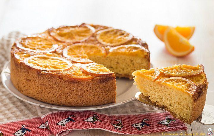 Torta rovesciata di arance ricetta