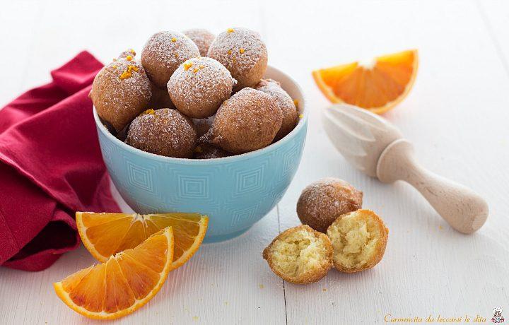 Frittelle alle arance