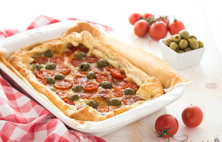 Torta salata mediterranea