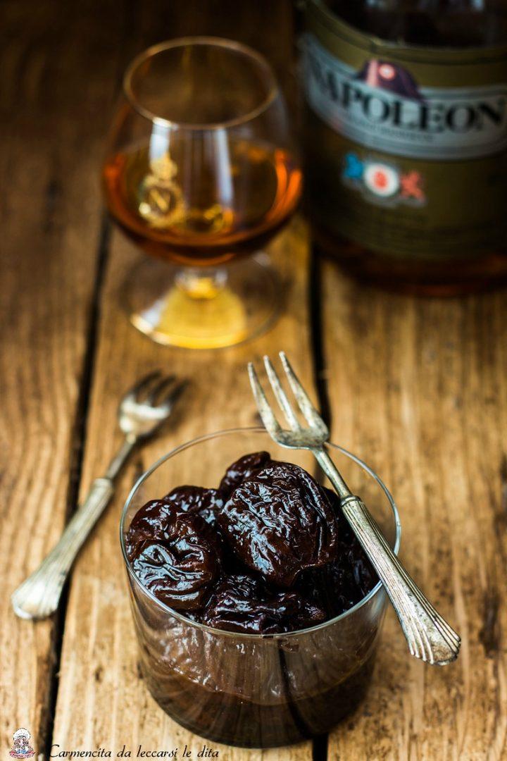 Prugne al cognac