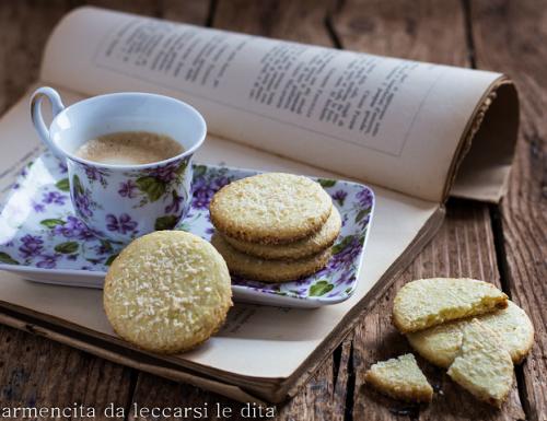Biscotti cocco e lime