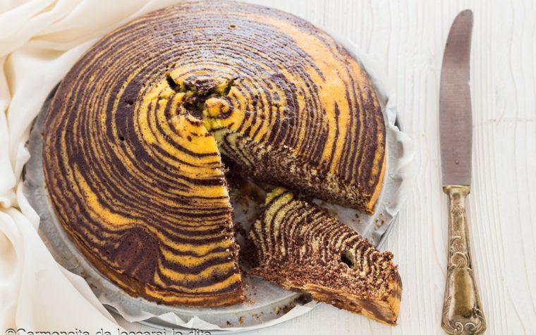 Torta zebrata ricetta