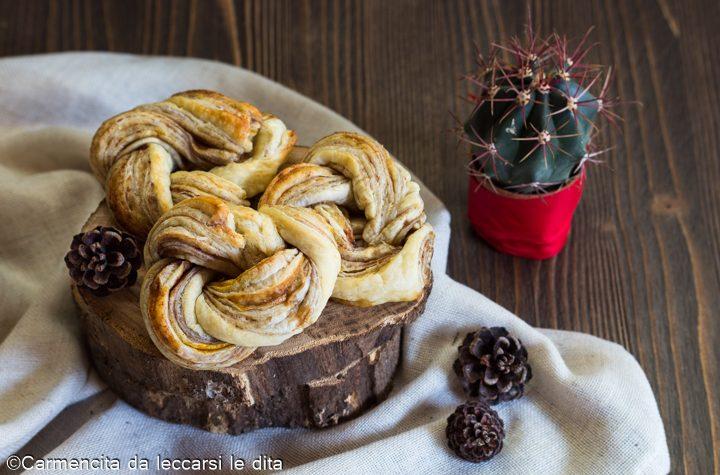 Angelica dolce di pasta sfoglia