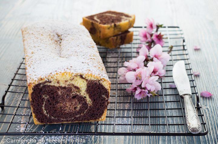 Plumcake panna e cioccolato