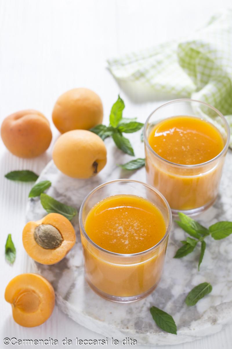 Succo di frutta albicocca