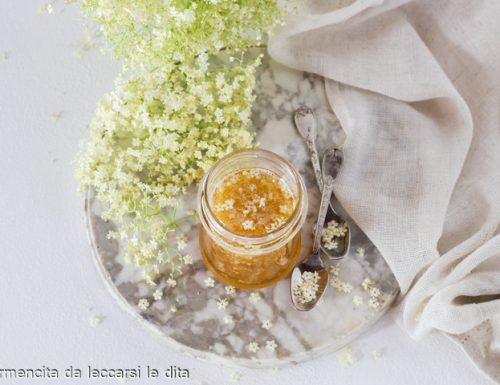 Marmellata fiori di sambuco e limoni