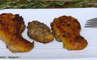 Funghi ripieni ( Spugnole )