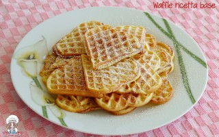 Waffle ricetta base soffice e profumata