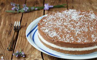 Cheesecake cocco e nutella ricetta