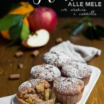 Muffin alle mele con arancia e cannella