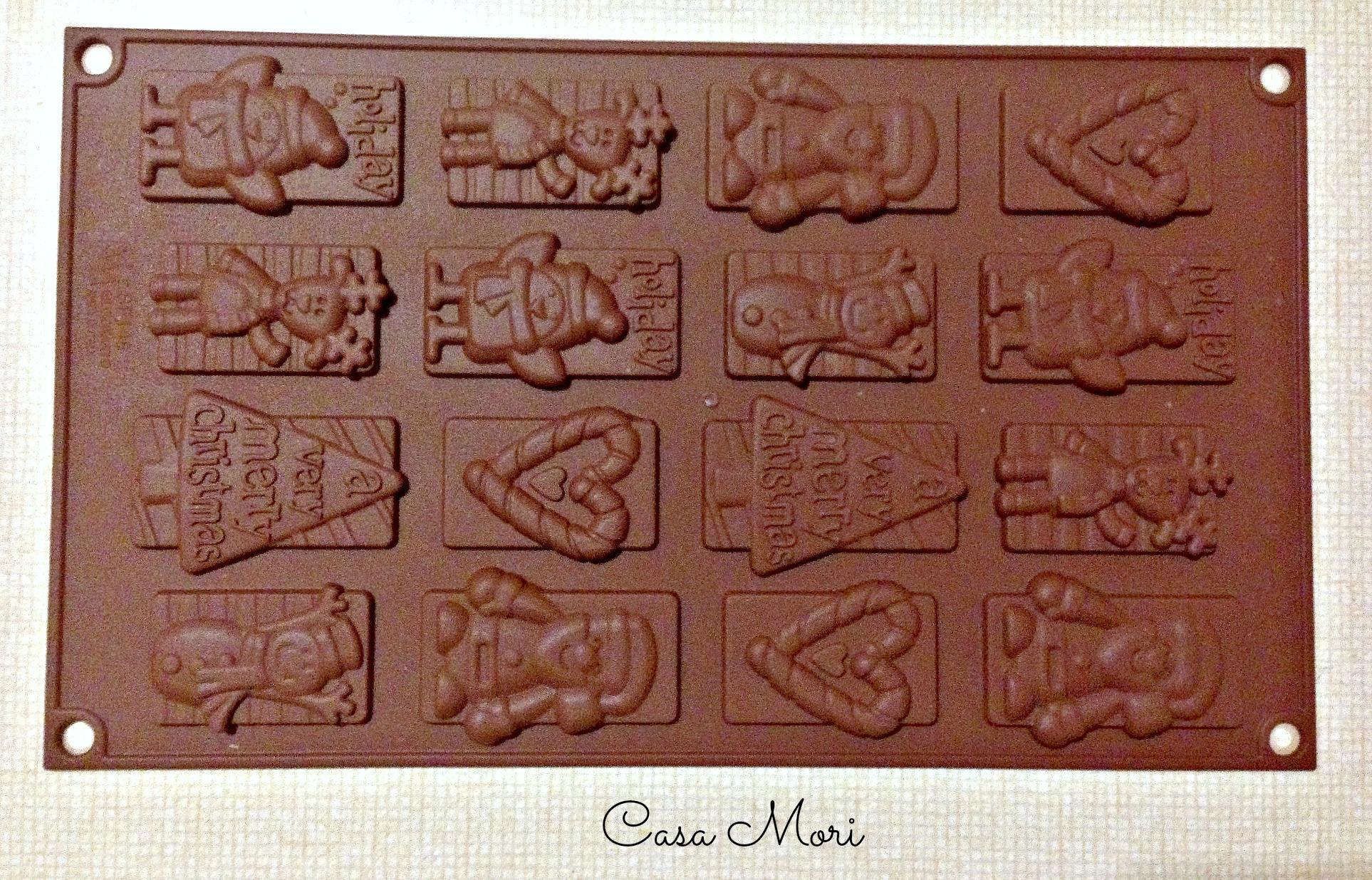 Cioccolatini di Natale - stampo