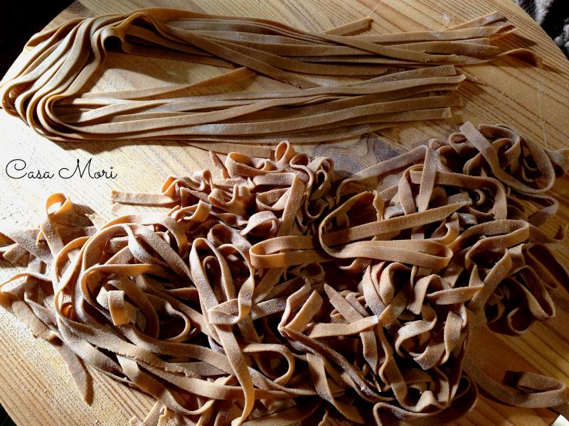 Tagliatelle castagne - crude