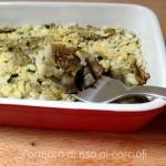 Sformato di riso ai carciofi