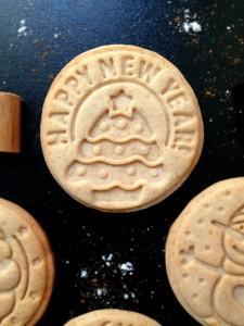 Biscotti speziati al miele e cannella