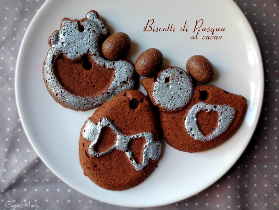 Biscotti di Pasqua al cacao amaro