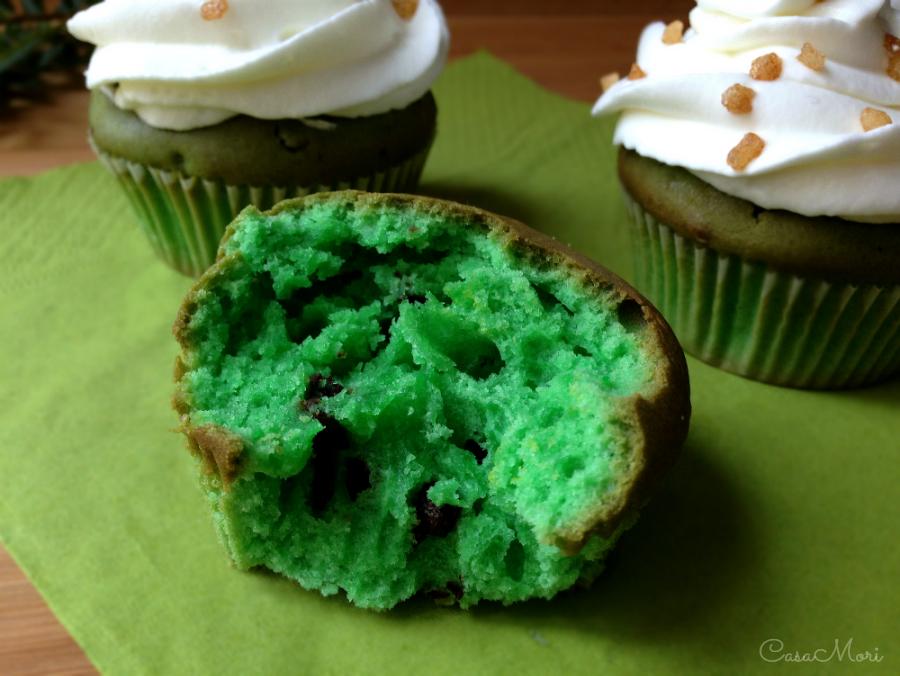 Cupcake verdi di San Patrizio