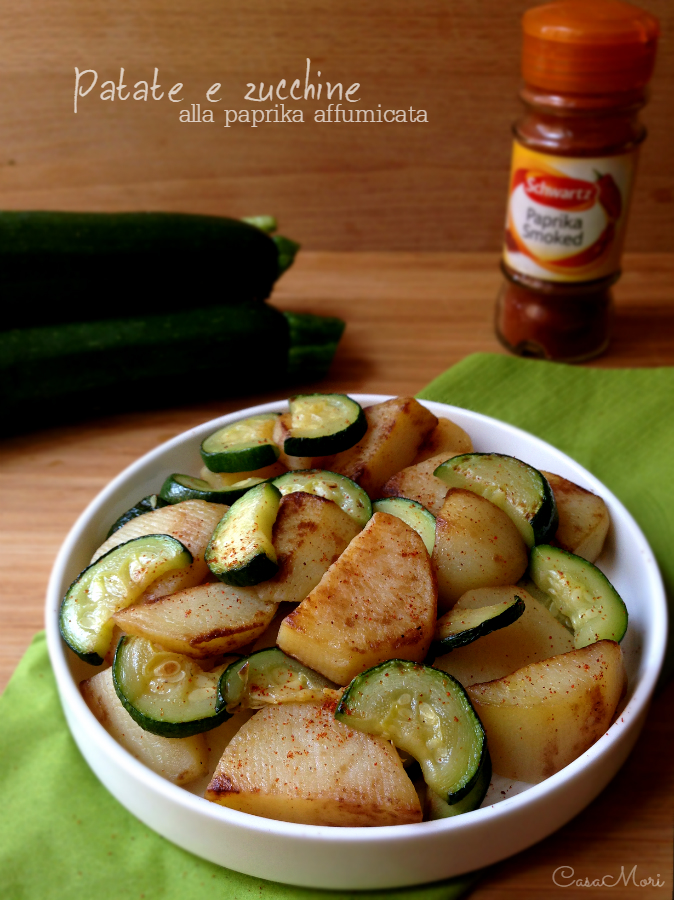 Patate e zucchine alla paprika affumicata