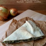 Torta di verdure con bietole, cipolla e ricotta