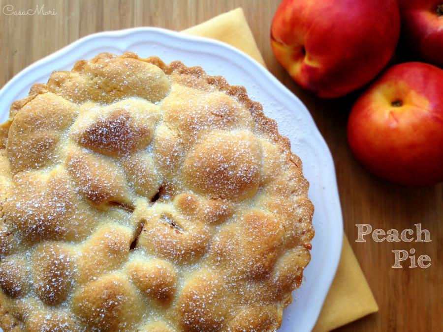 Peach pie