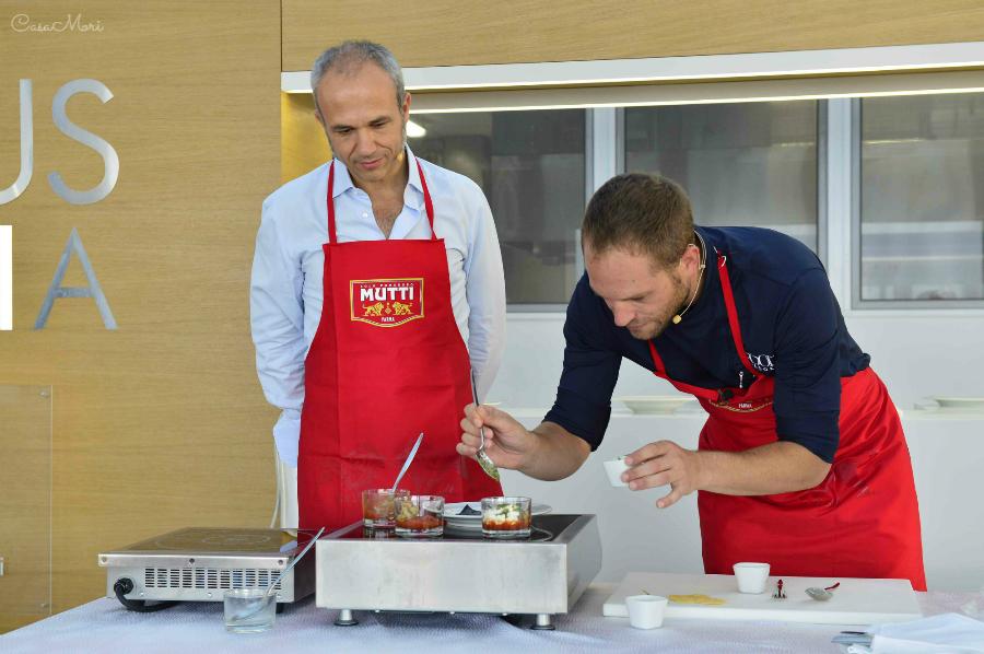 Cooking Show di Simone Rugiati in collaborazione con Francesco Mutti