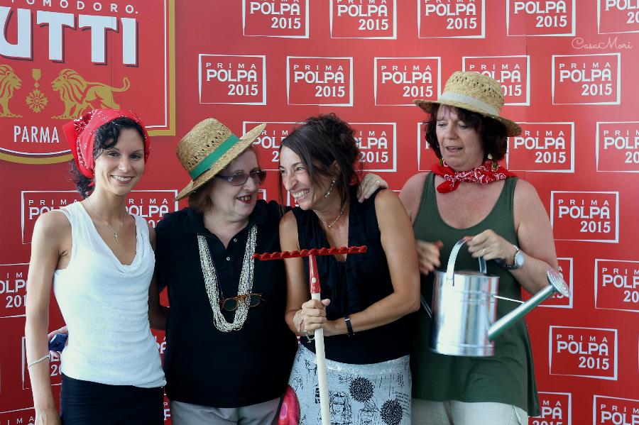 Io, Gilda Belloni, Sara Bonaccorsi e Viviana Guaraldo
