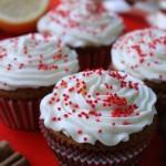 Cupcakes di Natale con cannella, limone e Marsala