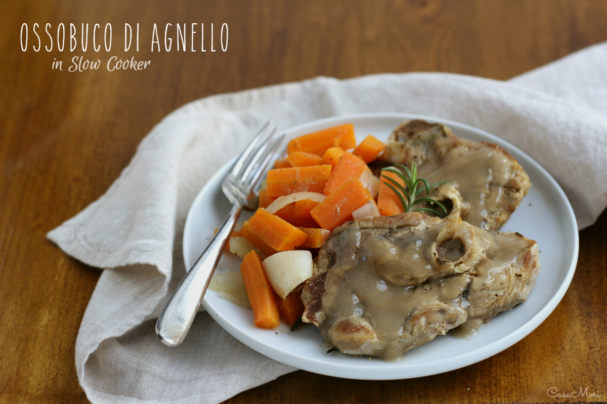 Ossobuco di agnello in Slow Cooker