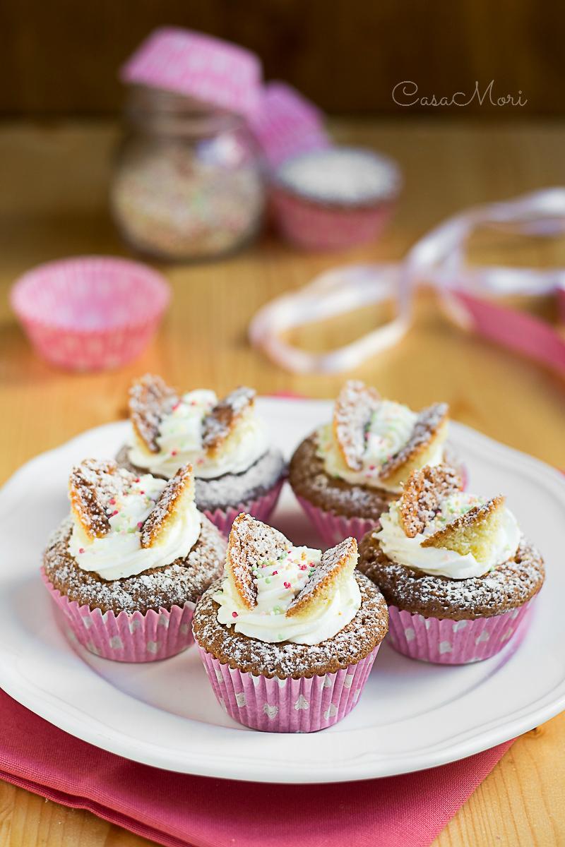 Butterfly Fairy Cakes con lemon curd e chantilly