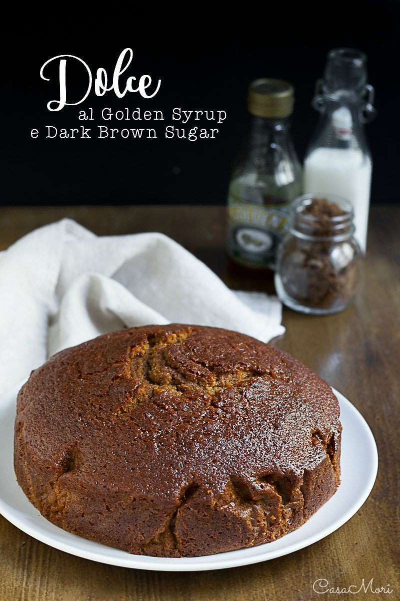 Dolce al Golden Syrup e Dark Brown Sugar
