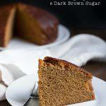 Dolce al Golden Syrup e Dark Brown Sugar