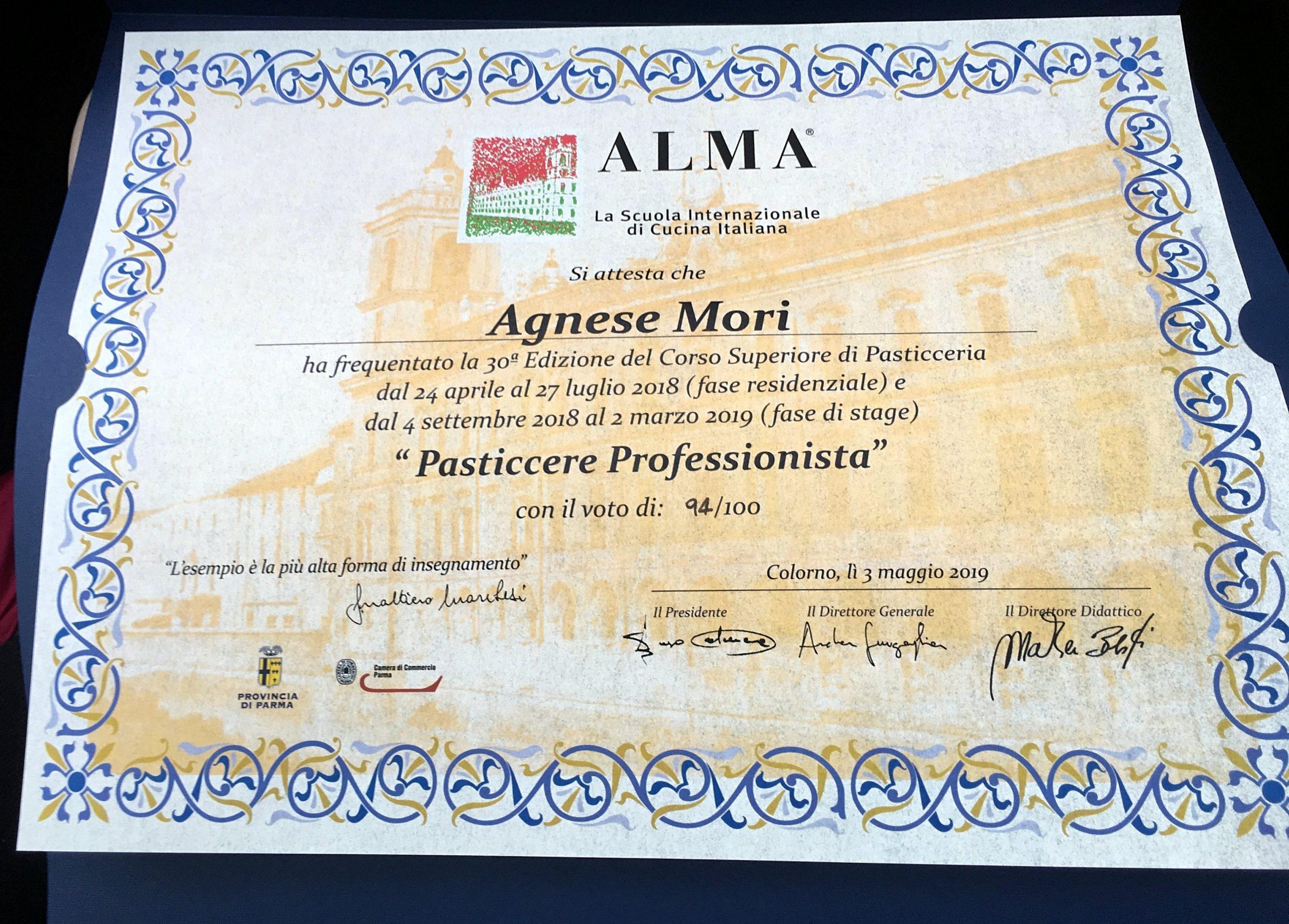 Diploma di ALMA