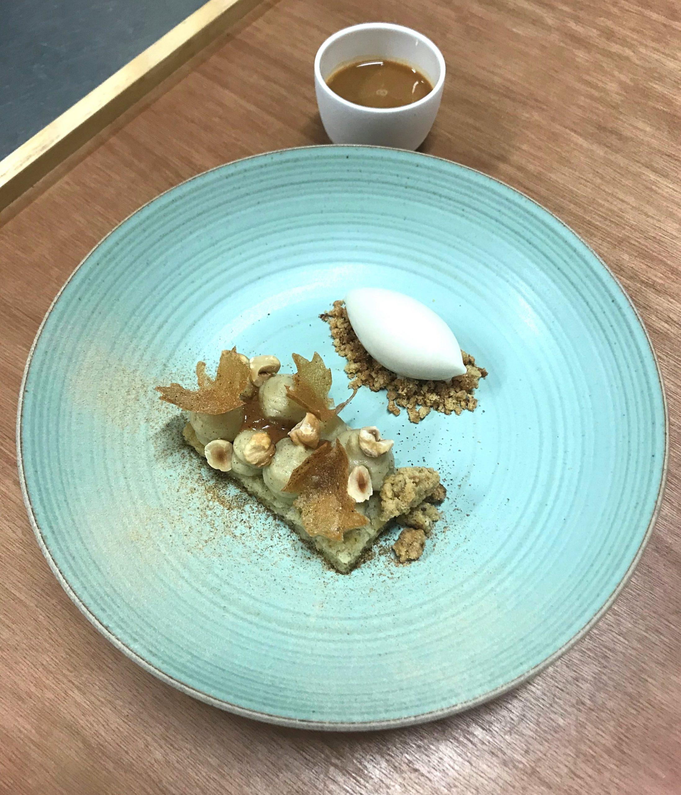 Magis, Dessert topinambur e nocciola