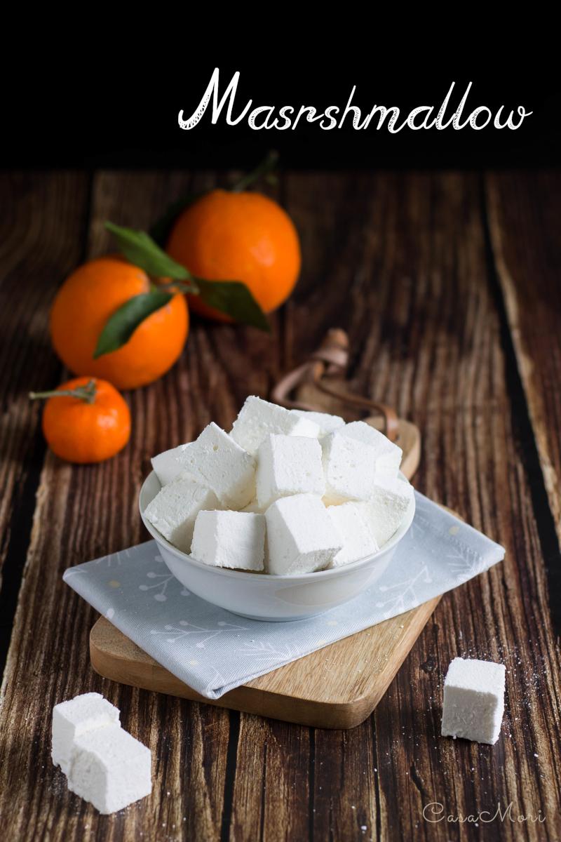 Marshmallow alla vaniglia e agrumi