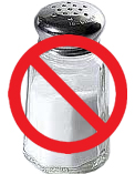senza sale