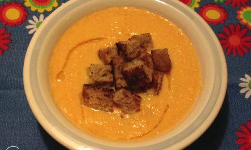Crema di carote della Flavia