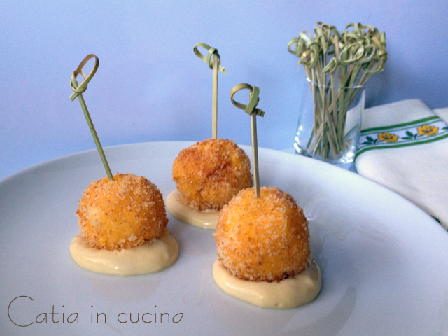 polpettine di polenta