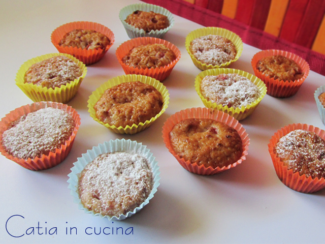 muffin alle fragole senza latticini né uova