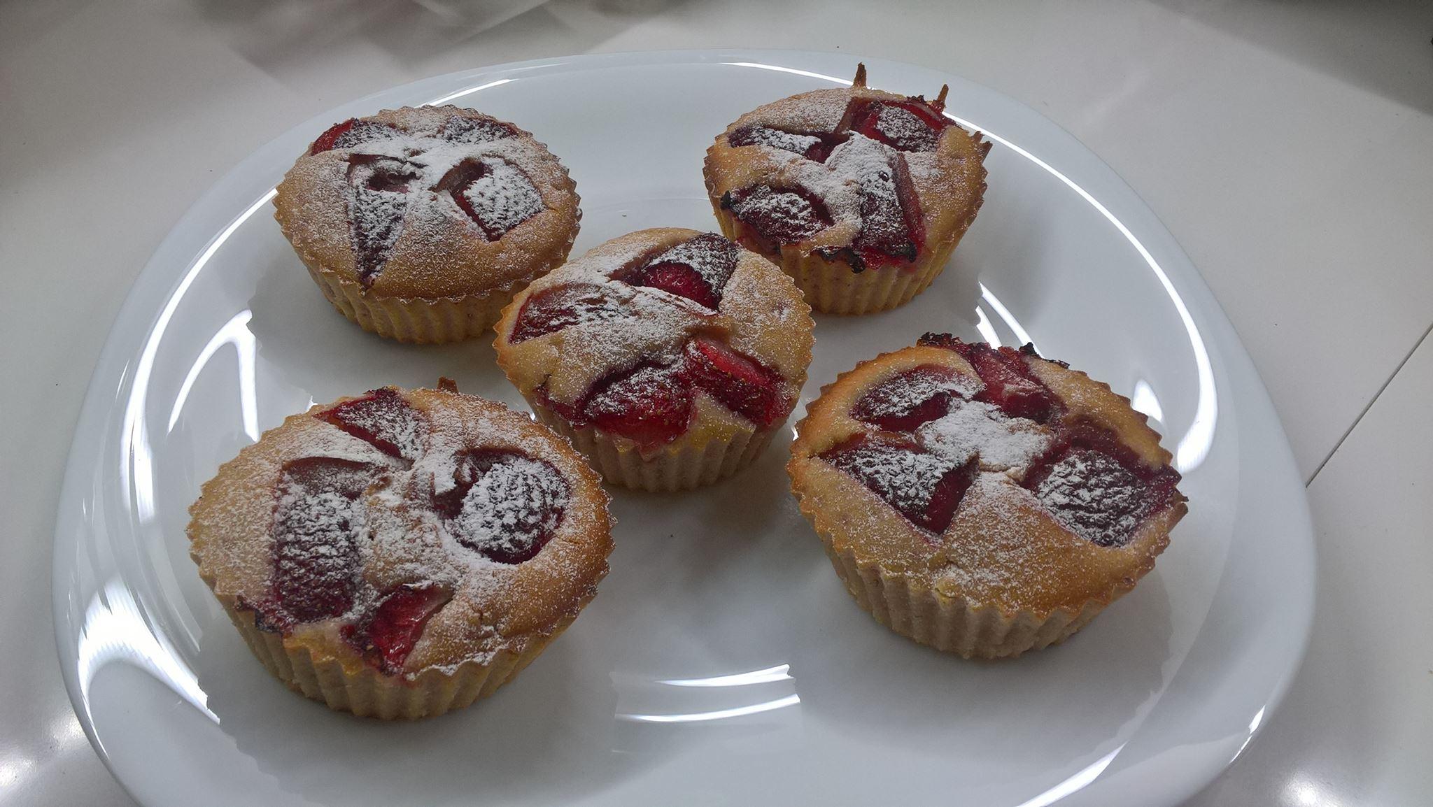 muffin alle fragole con kefir - Cinzietta