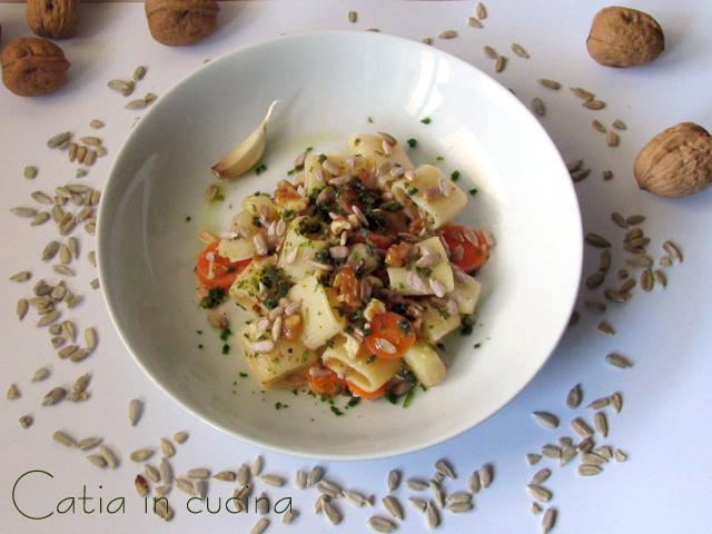pasta patate e carote
