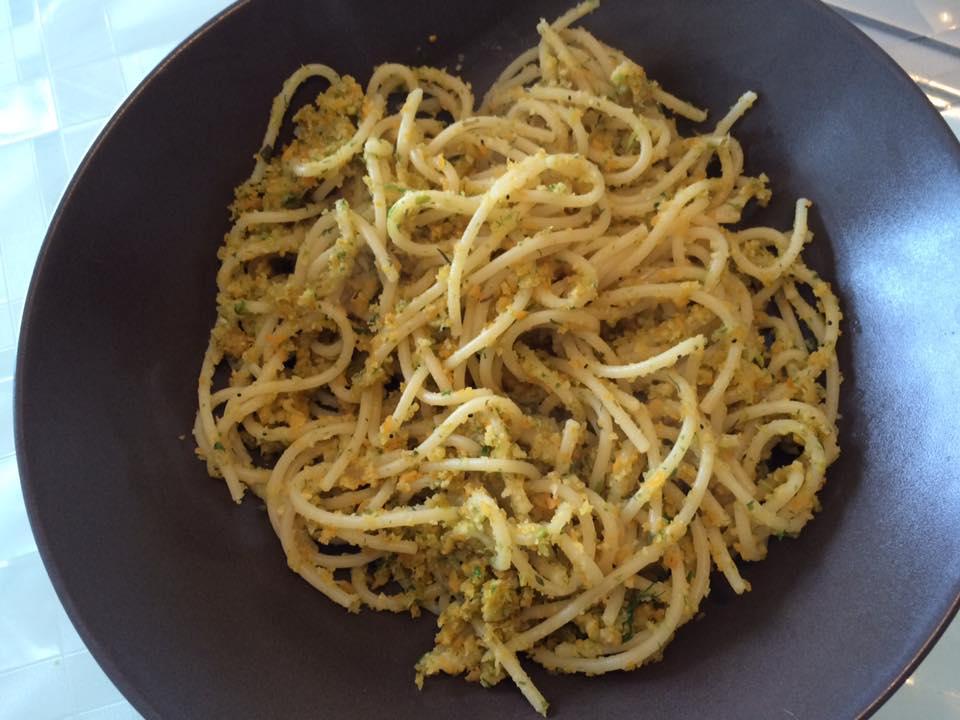 pasta verdure e pangrattato-Loretta