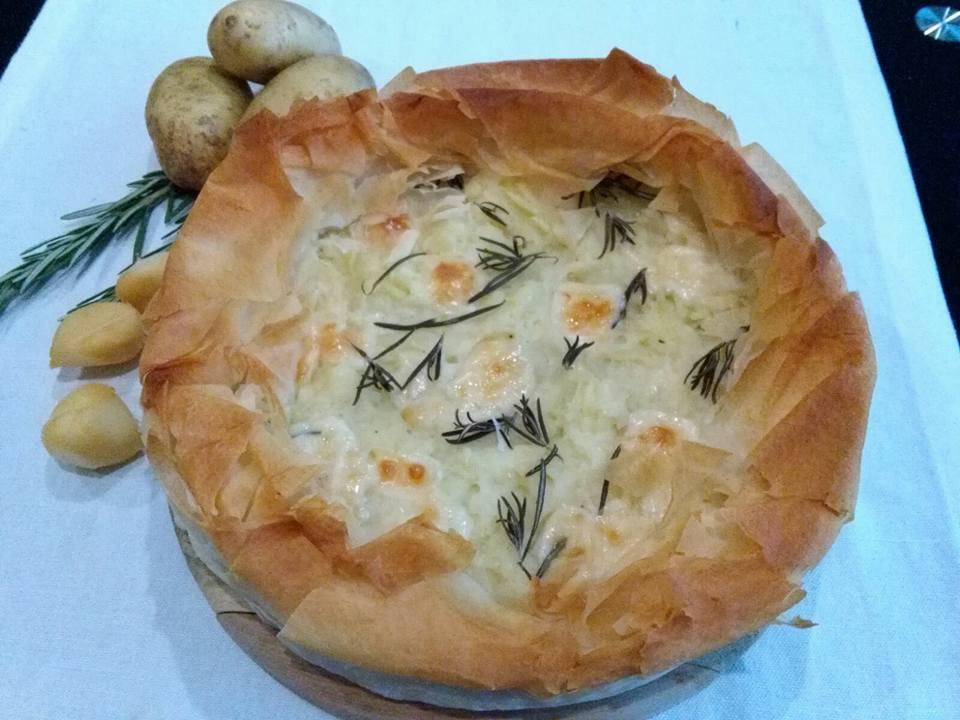 quiche patate e formaggio -Marta